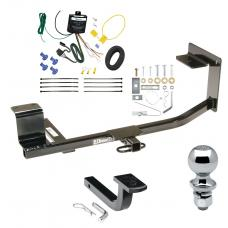 """Trailer Tow Hitch For 10-14 Volkswagen Golf Wagon Canada Only Complete Package w/ Wiring Draw Bar and 2"""" Ball"""