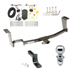 "Trailer Tow Hitch For 11-17 Nissan JUKE AWD Except Nismo Complete Package w/ Wiring Draw Bar and 2"" Ball"