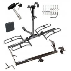 Trailer Tow Hitch For 05-12 Toyota Avalon Platform Style 2 Bike Rack w/ Hitch Lock and Cover
