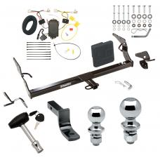 """Trailer Tow Hitch For 11-12 Toyota Avalon Deluxe Package Wiring 2"""" and 1-7/8"""" Ball and Lock"""