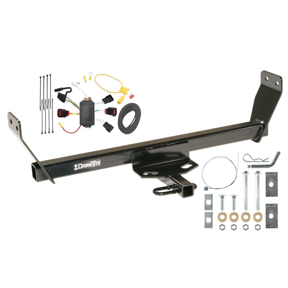 Cool 08 10 Dodge Avenger Trailer Hitch Tow Receiver W Wiring Harness Kit Wiring 101 Cranwise Assnl