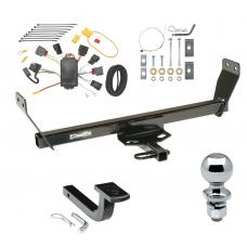 """Trailer Tow Hitch For 07-10 Chrysler Sebring Complete Package w/ Wiring Draw Bar and 2"""" Ball"""