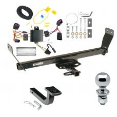 """Trailer Tow Hitch For 12-14 Chrysler 200 Dodge Avenger Complete Package w/ Wiring Draw Bar and 2"""" Ball"""