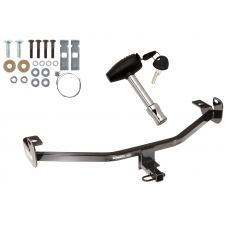 Trailer Tow Hitch For 12-18 Ford Focus w/ Security Lock Pin Key