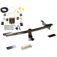 Trailer Tow Hitch For 12-18 FIAT 500 Except Abarth Trailer Hitch Tow Receiver w/ Wiring Harness Kit