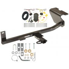 Trailer Tow Hitch For 12-17 Mazda 5 w/ Wiring Harness Kit