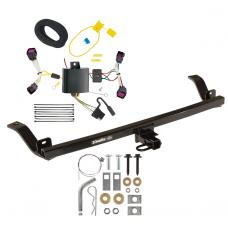 Trailer Tow Hitch For 12-16 Chevy Sonic Sedan Trailer Hitch Tow Receiver w/ Wiring Harness Kit