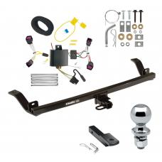"""Trailer Tow Hitch For  12-16 Chevy Sonic 4 Dr. Sedan Complete Package w/ Wiring Draw Bar and 2"""" Ball"""