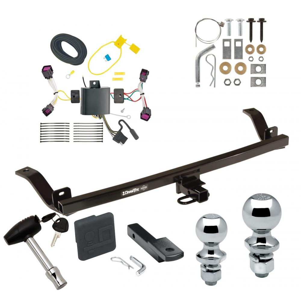 Trailer Tow Hitch For 2017 Chevy Sonic 4 Dr  Sedan Deluxe