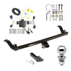 """Trailer Tow Hitch For 2017 Chevy Sonic 4 Dr. Sedan Complete Package w/ Wiring Draw Bar and 2"""" Ball"""