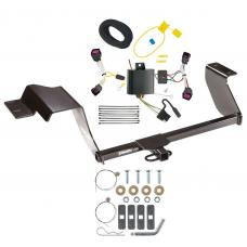 Trailer Tow Hitch For 12-16 Chevy Sonic Hatchback Trailer Hitch Tow Receiver w/ Wiring Harness Kit