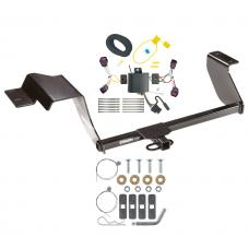 Trailer Tow Hitch For 17-19 Chevy Sonic Hatchback Trailer Hitch Tow Receiver w/ Wiring Harness Kit
