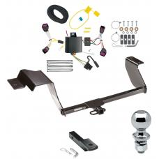 """Trailer Tow Hitch For 12-16 Chevy Sonic 5 Dr. Hatchback Complete Package w/ Wiring Draw Bar and 2"""" Ball"""