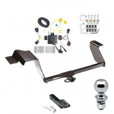 """Trailer Tow Hitch For 17-19 Chevy Sonic 5 Dr. Hatchback Complete Package w/ Wiring Draw Bar and 2"""" Ball"""