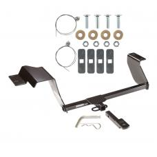 """Trailer Tow Hitch For 12-19 Chevy Sonic Hatchback 1-1/4"""" Receiver w/ Draw Bar Kit"""