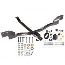 Trailer Tow Hitch For 12-13 Volkswagen Beetle Gas Turbo Except Convertible w/ Wiring Harness Kit