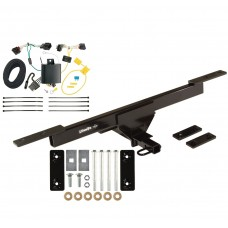 Trailer Tow Hitch For 16-19 Volkswagen Passat Except SE & SEL Trailer Hitch Tow Receiver w/ Wiring Harness Kit