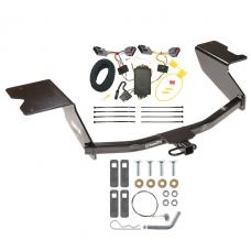 Trailer Tow Hitch For 12-13 Chevy Orlando Canada Only Trailer Hitch Tow Receiver w/ Wiring Harness Kit