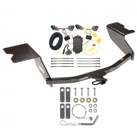 12-13 Chevy Orlando Canada Only Trailer Hitch Tow Receiver w/ Wiring Harness Kit