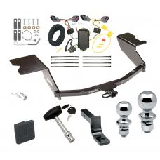 """Trailer Tow Hitch For 12-13 Chevy Orlando Canada Only Deluxe Package Wiring 2"""" and 1-7/8"""" Ball and Lock"""