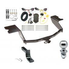 """Trailer Tow Hitch For 12-13 Chevy Orlando Canada Only Complete Package w/ Wiring Draw Bar and 2"""" Ball"""