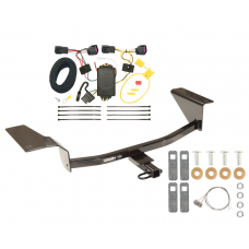 Trailer Tow Hitch For 11-16 Chevy Cruze Trailer Hitch Tow Receiver w/ Wiring Harness Kit