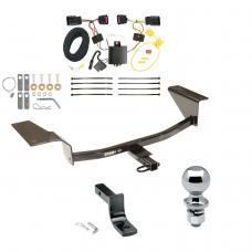 "Trailer Tow Hitch For 12-17 Buick Verano Except Turbo or w/Dual Exhaust Complete Package w/ Wiring Draw Bar and 2"" Ball"