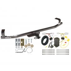 Trailer Tow Hitch For 12-16 KIA Rio Hatchback Tow Receiver w/ Wiring Harness Kit