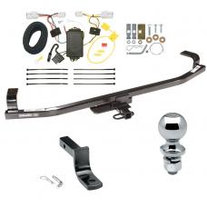 """Trailer Tow Hitch For 12-16 KIA Rio 5 Dr. Hatchback Complete Package w/ Wiring Draw Bar and 2"""" Ball"""