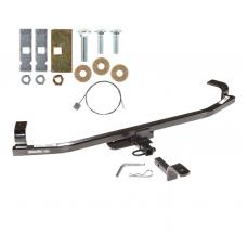 """Trailer Tow Hitch For 12-16 KIA Rio Hatchback 1-1/4"""" Towing Receiver w/ Draw Bar Kit"""