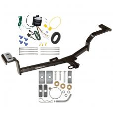 Trailer Tow Hitch For 2012 Hyundai Accent Hatchback Trailer Hitch Tow Receiver w/ Wiring Harness Kit