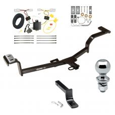 """Trailer Tow Hitch For 12-17 Hyundai Accent 4 Dr. Sedan Complete Package w/ Wiring Draw Bar and 2"""" Ball"""