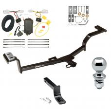 """Trailer Tow Hitch For 12-17 KIA Rio 4 Dr. Sedan Except S Complete Package w/ Wiring Draw Bar and 2"""" Ball"""