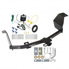 Trailer Tow Hitch For 12-19 Nissan Versa w/ Wiring Harness Kit