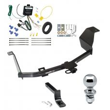 """Trailer Tow Hitch For 12-17 Nissan Versa 4 Dr. Sedan Complete Package w/ Wiring Draw Bar and 2"""" Ball"""