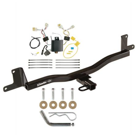 12-19 Toyota Prius C Trailer Hitch Tow Receiver w/ Wiring Harness Kit