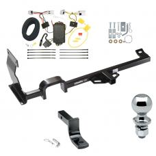 "Trailer Tow Hitch For 11-17 Nissan JUKE FWD Except Nismo and RS Complete Package w/ Wiring Draw Bar and 2"" Ball"