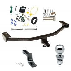 """Trailer Tow Hitch For 13-18 Ford C-MAX Complete Package w/ Wiring Draw Bar and 2"""" Ball"""