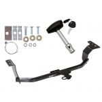 Trailer Tow Hitch For 11-16 Hyundai Elantra w/ Security Lock Pin Key