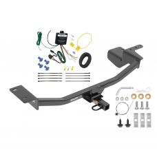 Trailer Tow Hitch For 10-14 Volkswagen GTI Hatchback Trailer Hitch Tow Receiver w/Wiring Harness Kit