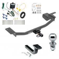 """Trailer Tow Hitch For 10-14 Volkswagen GTI Hatchback Complete Package w/ Wiring Draw Bar and 2"""" Ball"""