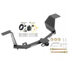 Trailer Hitch For 14-17 Nissan Versa Note w/ Wiring Harness Kit