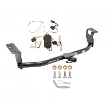 Trailer Tow Hitch For 2003 Toyota Corolla Trailer Hitch Tow Receiver w/ Wiring Harness Kit