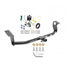 Trailer Tow Hitch For 2008 Toyota Corolla Trailer Hitch Tow Receiver w/ Wiring Harness Kit