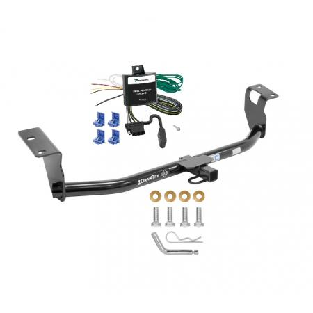 Trailer Tow Hitch For 04-07 Toyota Corolla Trailer Hitch Tow Receiver w/ Wiring Harness Kit