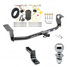 "Trailer Tow Hitch For 09-13 Toyota Corolla Complete Package w/ Wiring Draw Bar and 2"" Ball"
