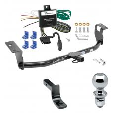 "Trailer Tow Hitch For 04-07 Toyota Corolla Complete Package w/ Wiring Draw Bar and 2"" Ball"
