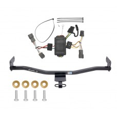 Trailer Tow Hitch For 14-18 KIA Soul without LED Taillights Receiver w/ Wiring Harness Kit