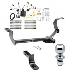 """Trailer Tow Hitch For 15-20 Honda Fit Complete Package w/ Wiring Draw Bar and 2"""" Ball"""