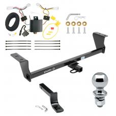 "Trailer Tow Hitch For 14-16 Scion tC Except Dual Exhaust Complete Package w/ Wiring Draw Bar and 2"" Ball"
